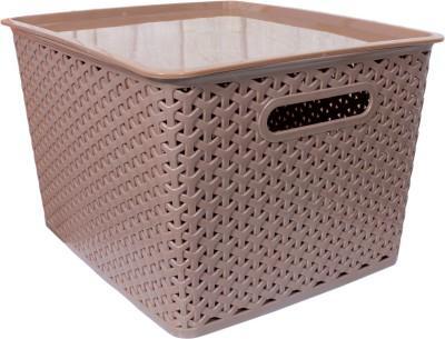 Enrich Plastic Favourite Plastic Fruit & Vegetable Basket(Brown)