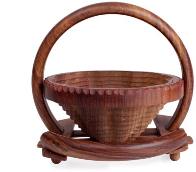 Store Indya Wooden Fruit & Vegetable Basket
