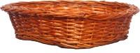 Sri Datta Bamboo Fruit & Vegetable Basket(Brown)