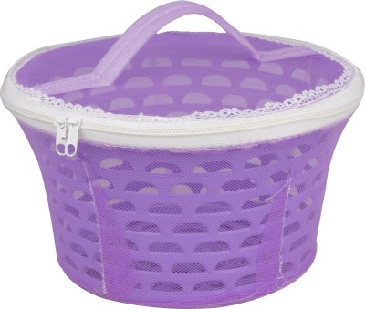 Bagathon India Fruit & Vegetable Food Grade Basket Conatainer With Cover Plastic Fruit & Vegetable Basket