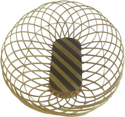 swadesibuyzzar Basket Oval Shape 27x22x7 cm Wooden Fruit & Vegetable Basket