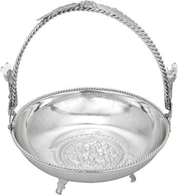 Oranate Antique Silver Plated Fruit & Vegetable Basket
