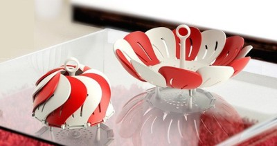Big Impex Fold able Fruit Basket Plastic Fruit & Vegetable Basket