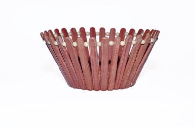 RIZEN WOOD Wooden Fruit & Vegetable Basket