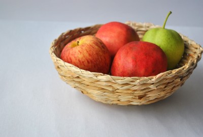 Rope International Bamboo Fruit & Vegetable Basket