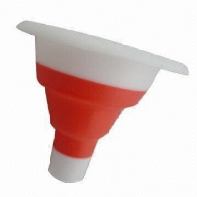 Shopo Small Collapsible Silicone Oil Sauce Plastic Funnel