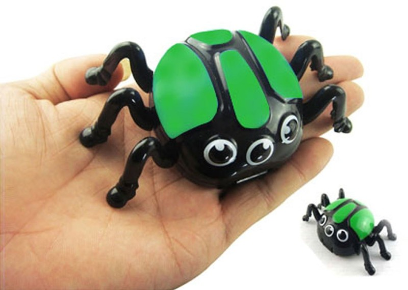 Adraxx 411535B Magnetic Biconic Spider Gag Toy(Green)