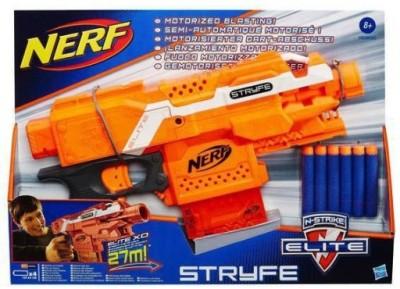 Funskool 6 Darts Funskool NERF N-Strike Elite Stryfe Blaster (6 Darts) Gag Toy