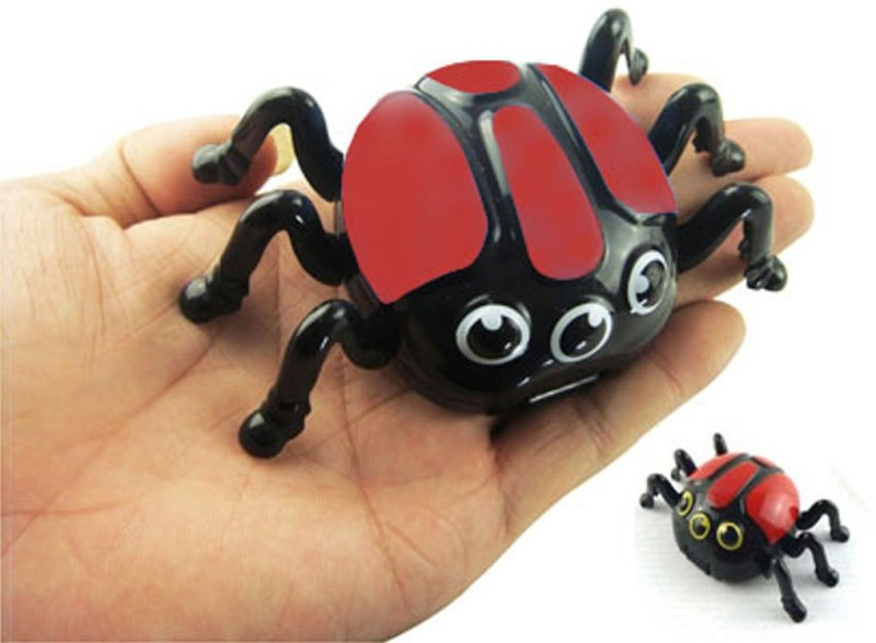 Adraxx 411535A Magnetic Biconic Spider Gag Toy(Red)