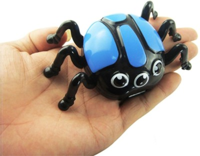 Adraxx 411535C Magnetic Biconic Spider Gag Toy(Blue)