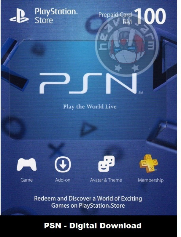 PlayStation Network 100 USD PSN CARD US for PC( )