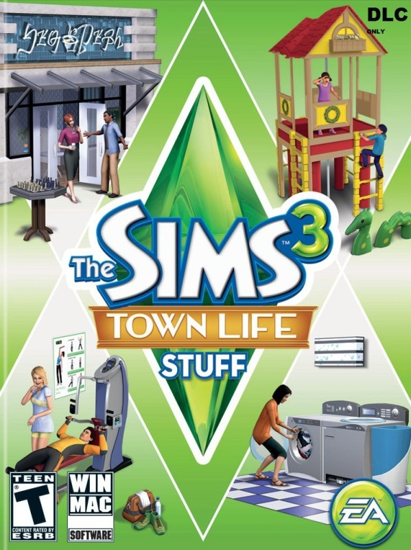 THE SIMS 3 TOWN LIFE STUFF for PC( )