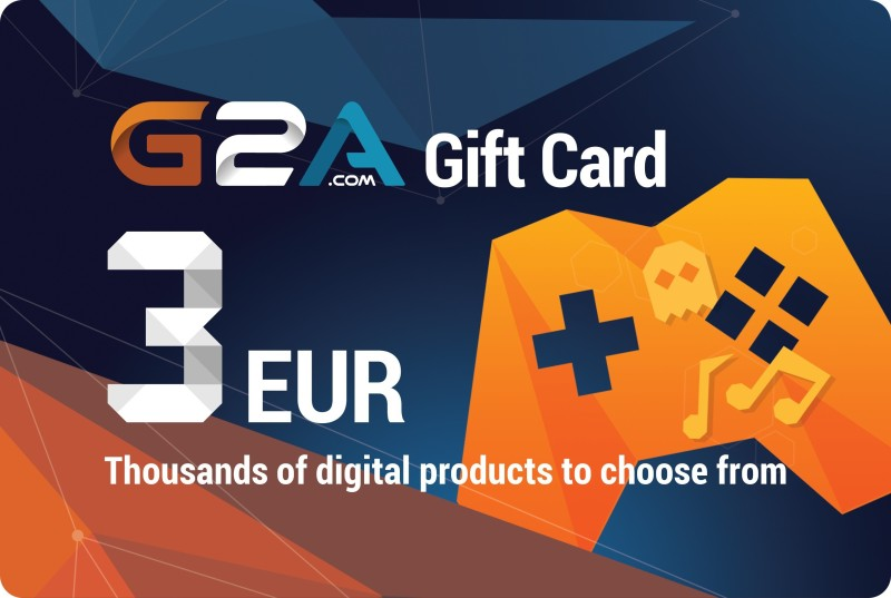 G2A-Gift-Card-3€ for PC( )