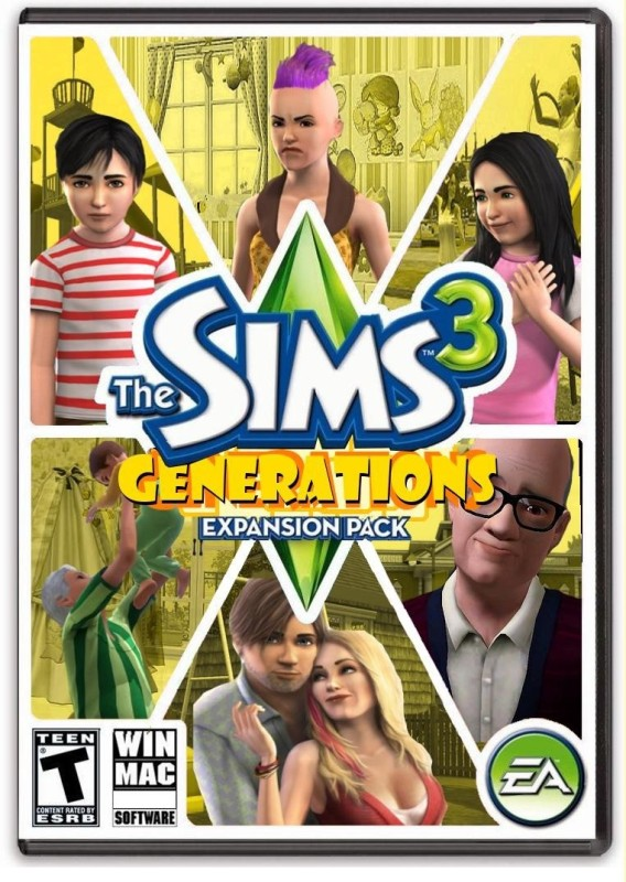 THE SIMS 3 GENERATIONS for PC( )