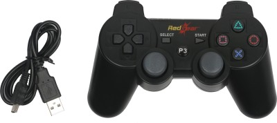 Red Gear PS3 Bluetooth Controller  Gamepad(Black, For PS3)