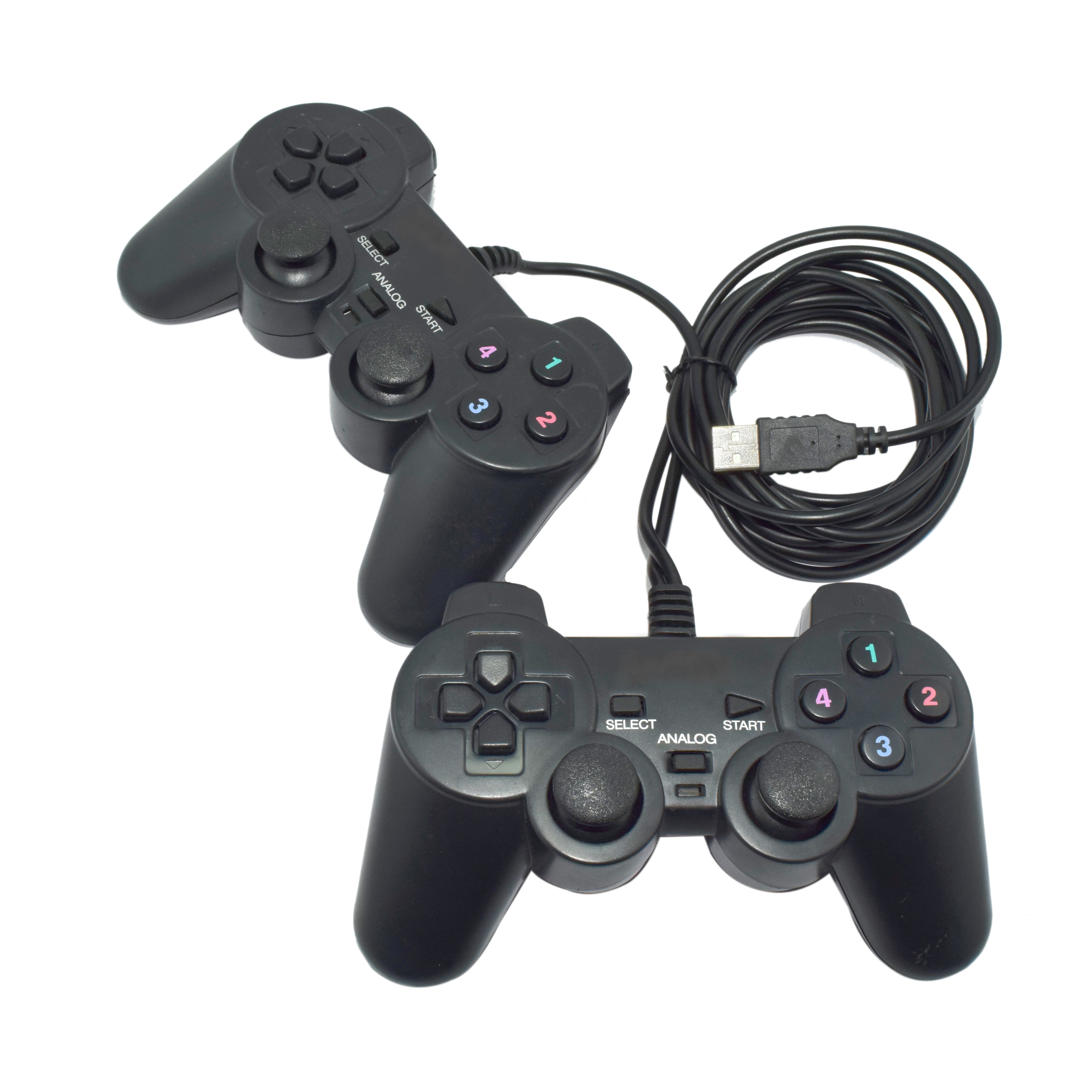 Storite 2 In 1 Computer Gamepad(Black, For PC)