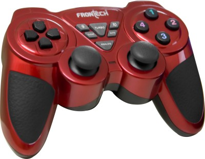 Frontech JIL-1731  Gamepad(Red, Black, For PC)