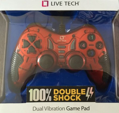 Live Tech Lt Game With Vibration  Gamepad