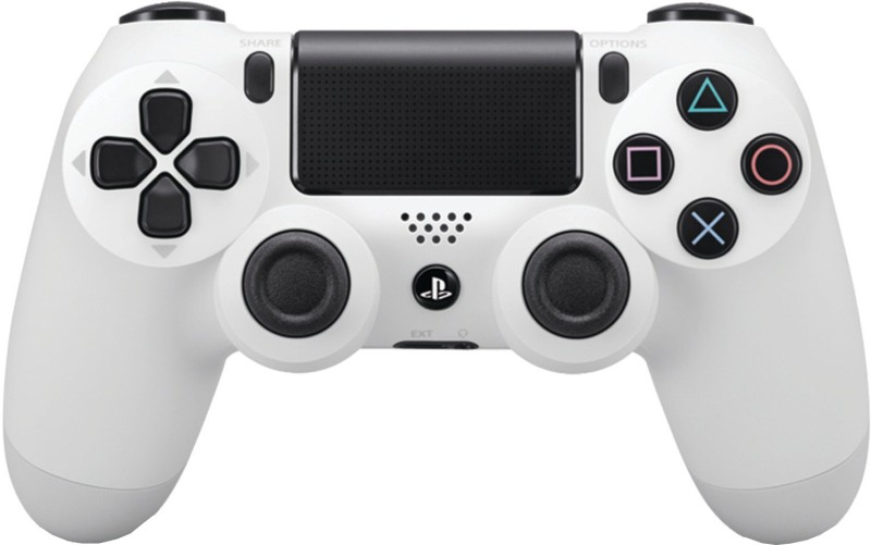 Sony DualShock 4 Wireless Controller Gamepad(White, For PS4)