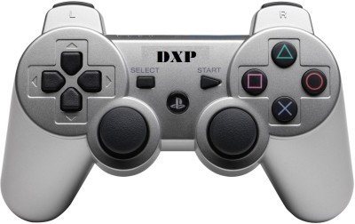DXP PS3 WIRELESS DUALSHOCK REMOTE CONTROLLER  Gamepad(Silver, For PS3)