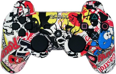 Sony PS3 WIRELESS CUSTOM CONTROLLER  Gamepad(Sticker Bomb, For PS3)