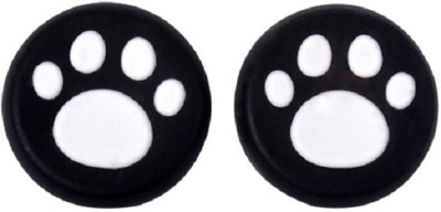 Hytech Plus White Paw Theme Thumb Grips  Gaming Accessory Kit