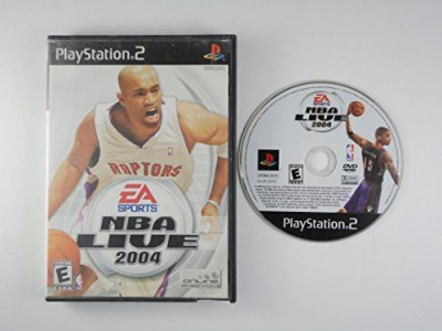 Electronic Arts NBA LIVE 2004 (PS2, REFURB)  Gaming Accessory Kit