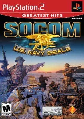Sony SOCOM U.S. Navy Seals (No Headset) - PlayStation 2 Gaming Accessory Kit(Multicolor, For PS2)