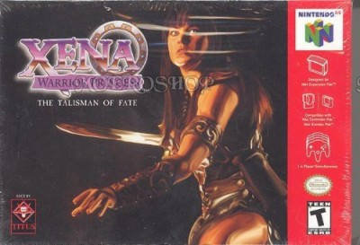 Nintendo Xena Warrior Princess- The Talisman of Fate Gaming Accessory Kit(Multicolor, For PS)