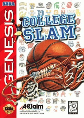 Acclaim College Slam (Sega Genesis) Gaming Accessory Kit(Multicolor, For PS)