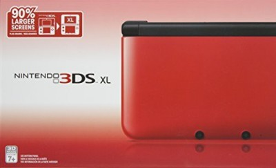 Nintendo Nintendo 3DS XL - Red/Black  Gaming Accessory Kit