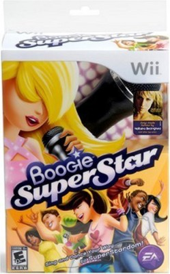 Electronic Arts Boogie Superstar with Microphone - Nintendo Wii  Gaming Accessory Kit