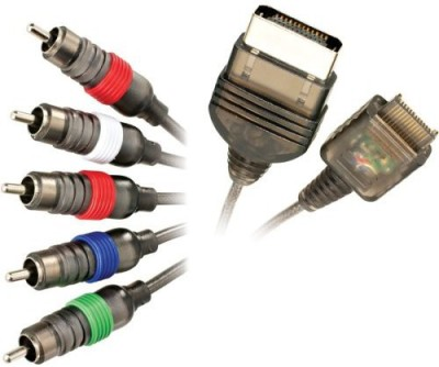Mad Catz Xbox Madcatz 6055 Component Video Cable  Gaming Accessory Kit