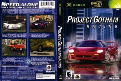 Microsoft Project Gotham Racing  Gaming Accessory Kit