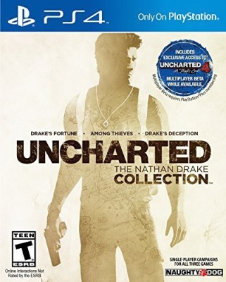 Sony UNCHARTED: The Nathan Drake Collection - PlayStation 4  Gaming Accessory Kit