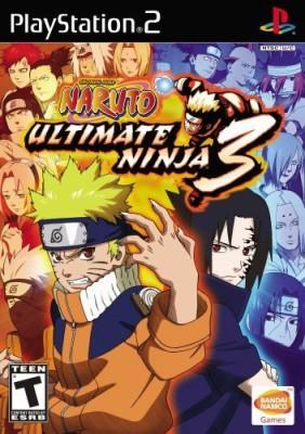 Bandai Naruto: Ultimate Ninja 3 - PlayStation 2  Gaming Accessory Kit