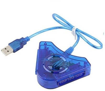 feleez Ps2 To Ps3 Convertor 30 W Adaptor (BLUE)  Gaming Accessory Kit(Blue, For PS2, PS3)