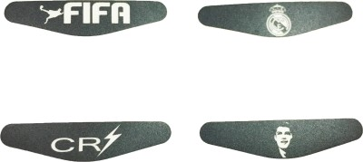 Al Pacino Real Madrid F.C. & CR7 Dualshock 4 Led light bar decals sticker set  Gaming Accessory Kit
