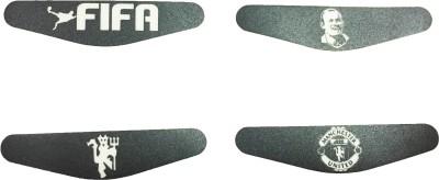 Al Pacino Manchester United F.C. Dualshock 4 Led light bar decals sticker set  Gaming Accessory Kit