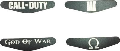Al Pacino Call of duty & God of war Dualshock 4 Led light bar decal sticker set  Gaming Accessory Kit