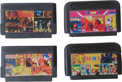 ptcmart 8 bit video games cassette Gaming Accessory Kit