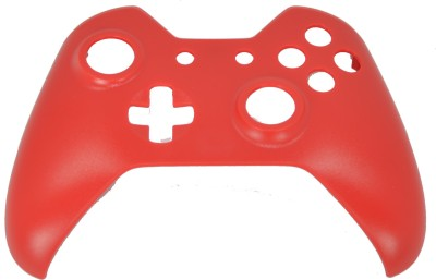 Hytech Plus Xbox One Controller Red Frosted Finish Face Panel Shell Gaming Accessory Kit