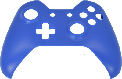Hytech Plus Xbox One Controller Blue Frosted Finish Face Panel Shell  Gaming Accessory Kit