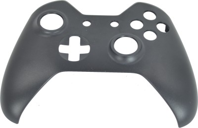 Hytech Plus Xbox One Controller Black Frosted Finish Face Panel Shell Gaming Accessory Kit