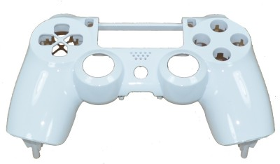 Hytech Plus Controller White Glossy Finish Front Face Panel Shell  Gaming Accessory Kit