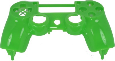 Hytech Plus Controller Green Glossy Front Face Panel Shell Gaming Accessory Kit