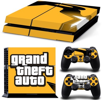 Al Pacino Grand Theft Auto theme cover stikcer for PS4 with GTA Key chain  Gaming Accessory Kit