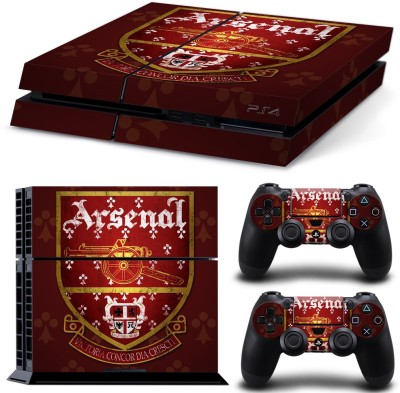 Al Pacino Arsenal club Theme Skin With 2 Dualshock 4 Sticker  Gaming Accessory Kit