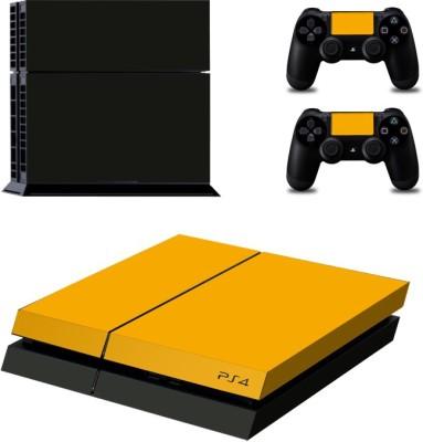 Al Pacino Custom Yellow & black sticker for Playstation 4  Gaming Accessory Kit