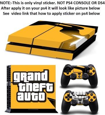 Al Pacino Grand Theft Auto 5 (Gta5) Theme Skin With 2 Dualshock 4 Sticker  Gaming Accessory Kit